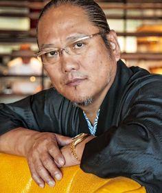 Morimoto Smashes Sake Cask to Celebrate First Las Vegas Restaurant at MGM Grand Opening Friday, October 21 (Photo credit: MGM Resorts, International).