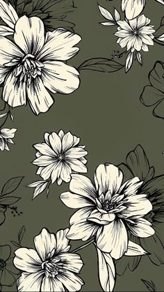 Flower patterns for Spring Iphone Background Wallpaper, Print Wallpaper, Aesthetic Iphone Wallpaper, Flower Wallpaper, Cool Wallpaper, Pattern Wallpaper, Aesthetic Wallpapers, Image Deco, Fleur Design