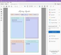 Free Agenda Templates For Meetings Best Free Pretty Printable Meeting Agenda Templates  Pinterest  Notes .