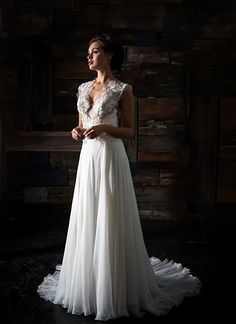 KleinfeldBridal.com: Carol Hannah: Bridal Gown: 33073461: A-Line: Natural Waist