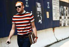 Stripes are always a good choice