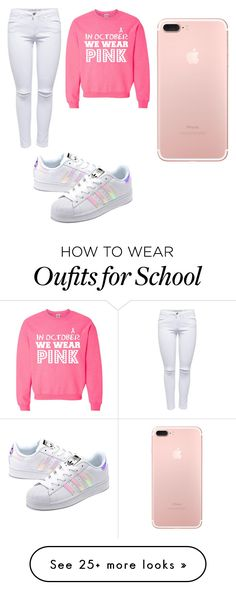"""""""HIGH SCHOOL STYLE"""" by mgarcia-iii on Polyvore featuring adidas Originals"""