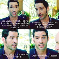 Lucifer- wouldn't mind an eternity with him