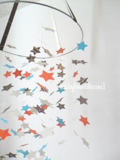 Tierische Sterne Mobile DIY Kit / / / von OllieandPenny auf Etsy