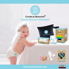 Charlie Banana Giveaway with Pregnancy and Newborn Magazine has started! One lucky winner will take home a prize well worth of USD 240. Giveaway ends 27th of October. To enter: https://www.facebook.com/lovecharliebanana/app_228910107186452