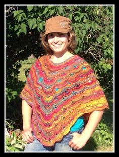 Crochet Virus Poncho : PATTERN Virus poncho If you love the virus stitch you will want this ...
