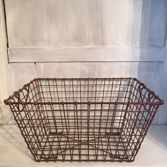 A personal favorite from my Etsy shop https://www.etsy.com/listing/212535223/french-vintage-oyster-basket-from-la