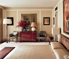 Inside Marc Jacobs's Greenwich Village townhouse via Architectural Digest
