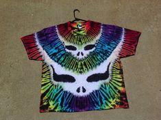 Grateful Dead Tie Dye Tee ShirtDouble by GratefullyDyedDamen, $60.00