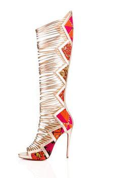 Christian Louboutin Shoe Footwear Collaboration Sabyasachi Mukherjee | British Vogue