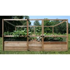 8x12 raised cedar garden bed with deer fence gardens raised beds and raised bed kits