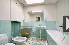 Hus till salu i Linköping Mint Green Bathrooms, Clawfoot Bathtub, My Dream Home, Toilet, Sink, Mirror, House, Inspiration, Furniture