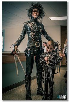 Tim Burton's Ed and Jack #cosplay