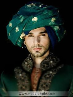 Pre-tied #Indian #wedding #pagri turban made in best quality #fabric only $99 at Needlehole http://lnk.al/2LVd