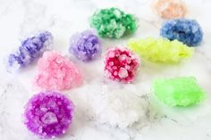 How to Grow Borax Crystals