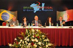 Foto do 6º Encontro de Negócios entre Brasil e Portugal que contou com a presença de Deborah Vieitas
