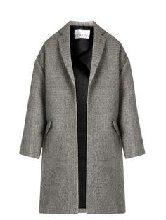 Bouclé cotton and mohair-blend blanket coat | Raey | MATCHESFASHION.COM
