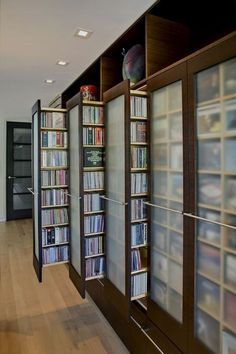 Creative CD DVD Storage Idea   DVD Organization Project    Organize your home, or small spaces   Tips, tricks and easy DIY ideas for storage on a budget #DVDstorageideas #CDstorageideas #DVDcabinet #DVDorganization #DVDRack #storage #solution #diydvdstorage