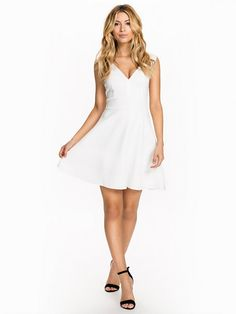 Ebba Dress - Rut&Circle - Optical White - Festkjoler - Tøj - Kvinde - Nelly.com