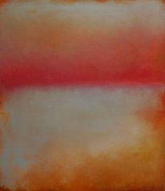 """Saatchi Art Artist Helen Butler; Painting, """"Pink and Orange"""" #art"""