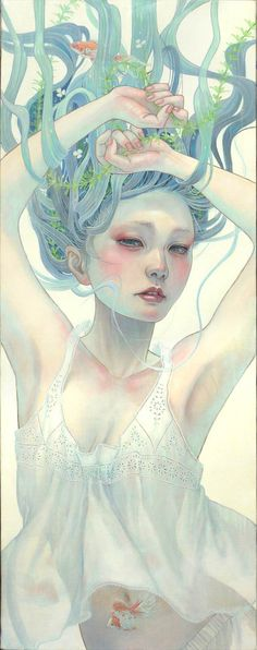 Artist Miho Hirano | oil painting | surreal oil painting