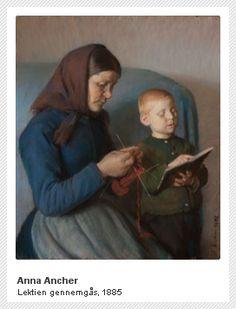 Anna Ancher, 1885