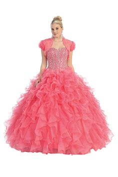 Get this quinceanera dress at Bridal & Formal by RJS, Nashville,Tel:615-522-0201 $395
