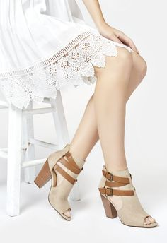 Syden in Natural - Get great deals at JustFab