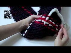 Tartan knitting | Knitting | WOOL AND THE GANG