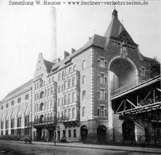 Gebaeude Durchfahrt Trebbinerstrasse am Gleidreieck 1904 (Berliner U-Bahn)