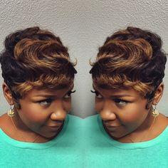 Throwwww Back Love  #TBT #Hairtends #TheCutLife #ModernSalon #fly #Nothingbutpixies #ShortHair #Pixie #PixieCut #Hairtends #Khimandi #Fussy #AllHers #Natural #NaturalHair #AllHers by khimandi