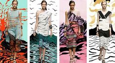 Missoni channels the elements, so cool!