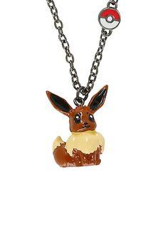 Pokemon Eevee 3D NecklacePokemon Eevee 3D Necklace,
