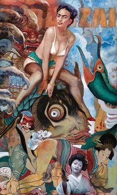 William Wagner mistura elementos pop à cultura japonesa | O Beijo