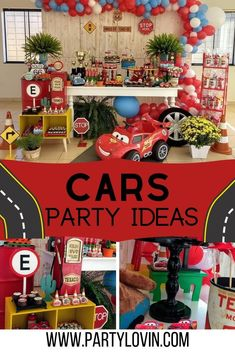 Rev your engines and hit the gas, this Disney Pixar Cars Birthday Party is such a blast! These Disney Pixars Cars Party Disney Pixar Cars, Disney Cars Party, 2nd Birthday Party For Boys, Cars Birthday Parties, Car Birthday, Birthday Ideas, Route 66, Pixar Cars Birthday, Race Car Party