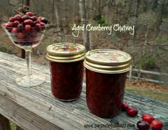 cranberry chutney #SundaySupper Gifts from the kitchen
