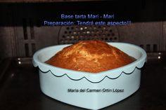 Base tarta Mari - Mari   Preparación: Tendrá este aspecto!!!