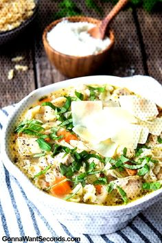 Learning to make your own homemade potato soup recipes can be exciting, satisfying and very full-fil Homemade Potato Soup, Creamy Potato Soup, Best Soup Recipes, Chicken Recipes, Italian Chicken Soup, Cup Of Soup, Soup Broth, Beef Bones, Natural Vitamins