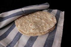Tortillas de trigo caseras para burritos, fajitas y wraps