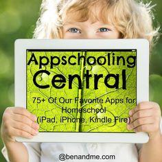 AppSchooling Central - Favorite Apps for Homeschooling - Ben and Me