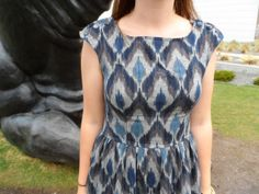 all dressed up and nowhere to go (Burdastyle Vintage Modern Elizabeth dress)