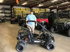 Congratulations to Pat Hood from Pickens, MS for purchasing a 2017 Hammerhead Mudhead 208r from Hattiesburg Cycles. #hammerhead #gocart