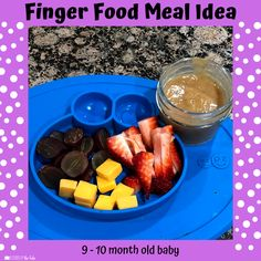 Babies Eating at 10 Months - Lessons By The Lake 10 Months Baby Food, 10 Month Old Baby Food, Healthy Baby Food, Food Baby, Baby Meal Plan, Recipe For 10, Whole Wheat Waffles, Baby Solid Food, Baby Finger Foods