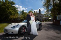 Beautiful Wedding Car Photography by Jacqui Marie Photography. VISIT http://jacqui-marie-photography.co.uk for details.