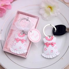 The Cheapest Price 10pcs Silver Key Chain Lovely Dog Shape Key Ring Keychain Baby Shower Favors Boy Birthday Gifts Gril Baby Shower Souvenirs Delicious In Taste Home & Garden Event & Party