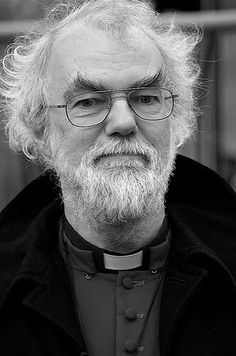 Explore the best Rowan Williams quotes here at OpenQuotes. Quotations, aphorisms and citations by Rowan Williams Catholic Communion, Canterbury Cathedral, Episcopal Church, Westminster Abbey, Christen, Interesting Faces, Black And White, Purple, Viola