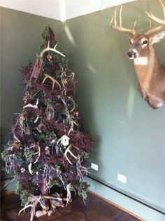 Nature Themed Christmas Tree