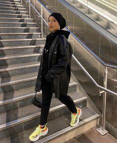 Modest Fashion Hijab, Modern Hijab Fashion, Street Hijab Fashion, Modesty Fashion, Muslim Fashion, Mode Streetwear, Streetwear Fashion, Mode Turban, Mode Hijab