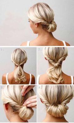 Çabasız Güzellik için Sabah Evden Çıkarken Yardımınıza Koşacak 11 Pratik Saç Modeli! - Gelin Saçı ve Makyajı