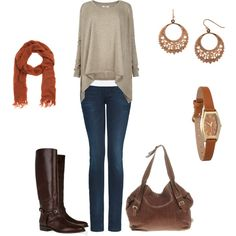I love the slouchy, casual, and comfy feel of this outfit.